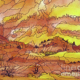 Lorita Montgomery - The Cliffs of Palo Duro