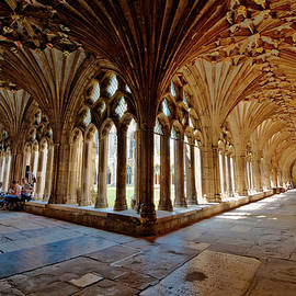 Donald Davis - The Cloisters Canterbury Cathedral