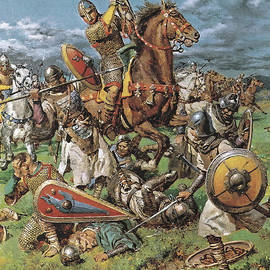 The Coming of the Conqueror - Fortunino Matania