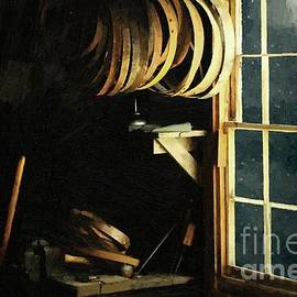 The Cooperage in Moonlight by RC DeWinter