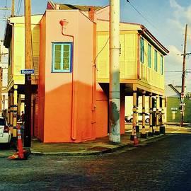 The Corner Of Richard Street by Alida M Haslett