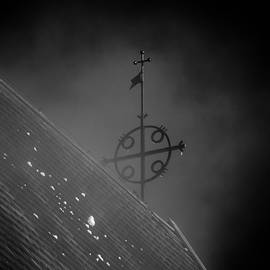 Jouko Lehto - The Cross. BW The Church of St Mary in Sastamala