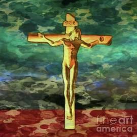 The Crucific Pop Art by Mary Bassett - Mary Bassett