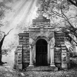 The Crypt At Woodlawn by Jessica Jenney