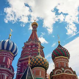 Mariia Kalinichenko - The cupolas of St. Basil