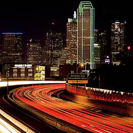 JC Findley - The Dallas Night Skyline