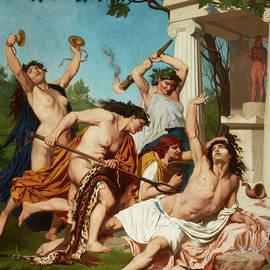 The Death of Orpheus - EmilJean Baptiste Philippe Bin