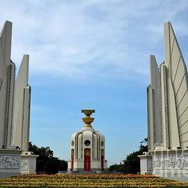 Imran Ahmed - The Democracy Monument commemorating Siamese Revolution of 1932 Bangkok Thailand