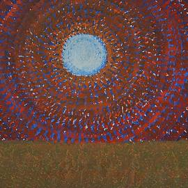 Sol Luckman - The Difficulty of Crossing a Field original painting