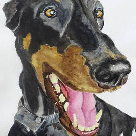 Patty Strubinger - The Doberman