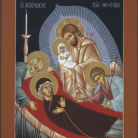 The Dormition Of The Mother Of God 029 by William Hart McNichols