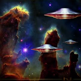 The  Eagle  Nebula  by Hartmut Jager