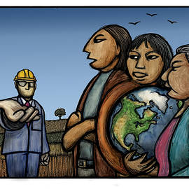 The Earth is not for sale by Ricardo Levins Morales