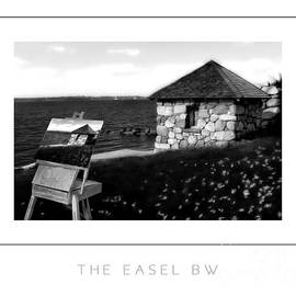 Mike Nellums - The Easel BW poster