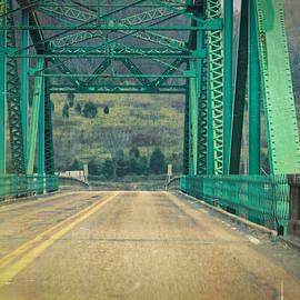 The Edward R Talley Bridge In Harlan Ky by Lars Lentz