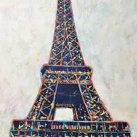 The Eiffel Tower by Cristina Stefan