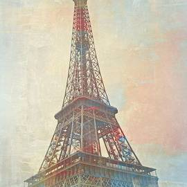 The Eiffel Tower in May by Toni Abdnour