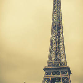 The Eiffel Tower in the Morning Glow by Marina McLain