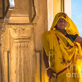 The Elegantly Dressed and Colors of Indian Women Attire  by Rene Triay Photography