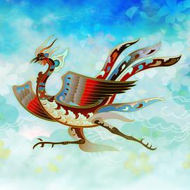 Peter Awax - The Empress - Flight Of Phoenix - Blue Version