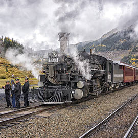 The End of a Run Silverton Railyard DSC07665 by Greg Kluempers