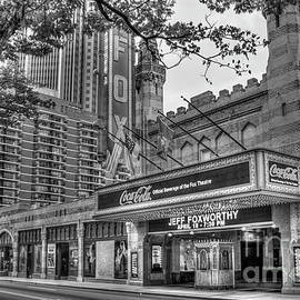 Reid Callaway - The Fabulous FOX Theatre BW Atlanta Georgia Art