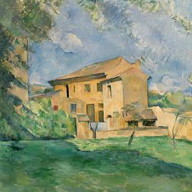 The Farm at the Jas de Bouffan - Paul Cezanne