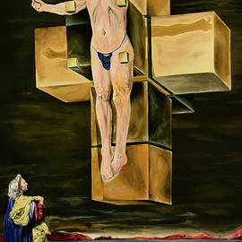 The Father Is Present -after Dali- by Ryan Demaree