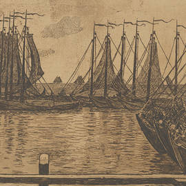 The Fishing Fleet - Theo Van Rysselberghe