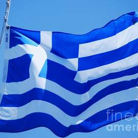 The Flag Of Greece by Marcus Dagan