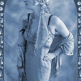 The Flapper Cyanotype - John Edwards