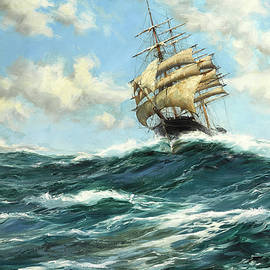 The Flying Clipper, Sir Lancelot - Montague Dawson