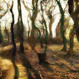 Gun Legler - The frightening forest