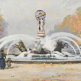 Eugene Galien-Laloue - The Garden of the Observatory