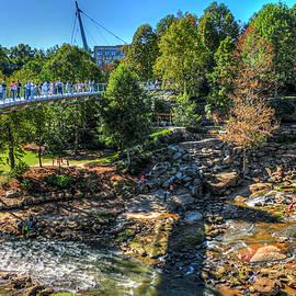 Reid Callaway - The Gathering Liberty Bridge Greenville South Carolina Art