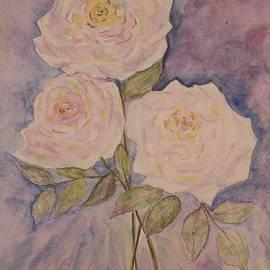 The gentle roses by Olga Malamud-Pavlovich