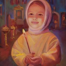 Irina Bakhareva - The girl in church