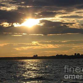 Dora Sofia Caputo Photographic Design and Fine Art - The Golden Hour Over the Bay