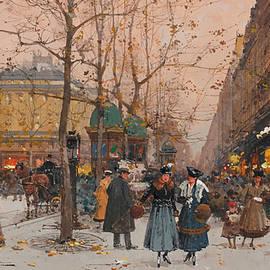 Eugene Galien-Laloue - The grand boulevards