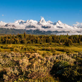 The Grand Tetons - Grand Tetons National Park Wyoming by Brian Harig