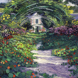 David Lloyd Glover - The Grande Allee Giverny