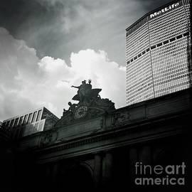 Miriam Danar - The Great Grand Central Clock - Mercury and MetLife Building