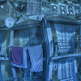 The Groggy Blue House by Heiko Koehrer-Wagner