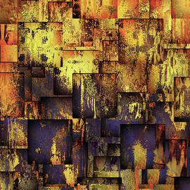 The Grunge Of Life Contemporary Abstract Art by Isabella Howard
