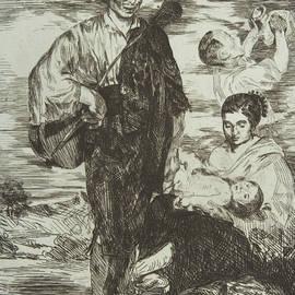 The Gypsies - Edouard Manet