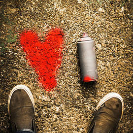 Jorgo Photography - Wall Art Gallery - The heart of a vandal