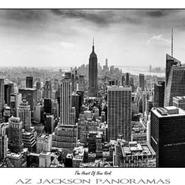 The Heart Of New York Poster Print by Az Jackson