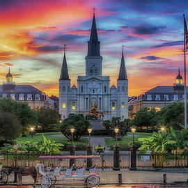 The Heart Of Old New Orleans by Susan Rissi Tregoning