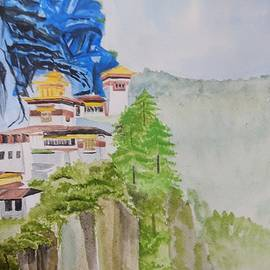 Debjyoti Chakraborty - The Hiltop Monastry