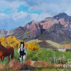 Jeannie Allerton - The Horses of the Chiricahua Mountains
